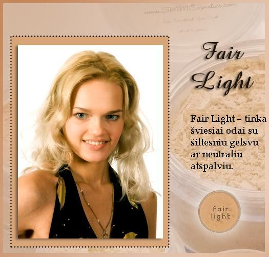 SMM FAIR LIGHT Foundation – Makiažo pagrindas 8 g.